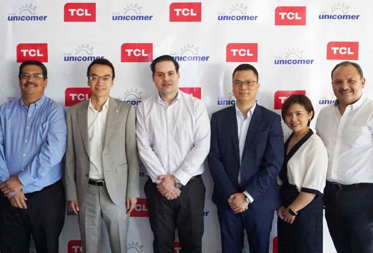Unicomer Group and Technology Brand TCL